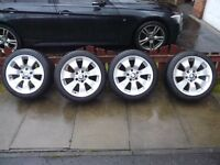 """BMW 17"""" Winter tyres and wheels - GoodYear Eagle UltraGrip M + S Winter Runflat tyres"""