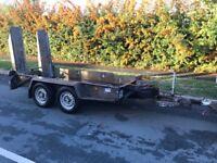 Ifor Williams GH94 BT plant trailer