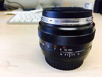 Zeiss Planar T ZE 50mm f/1.4 Lens Canon Fit