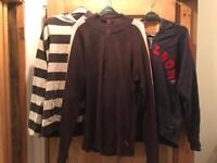 Job lot male clothes size Large and XL