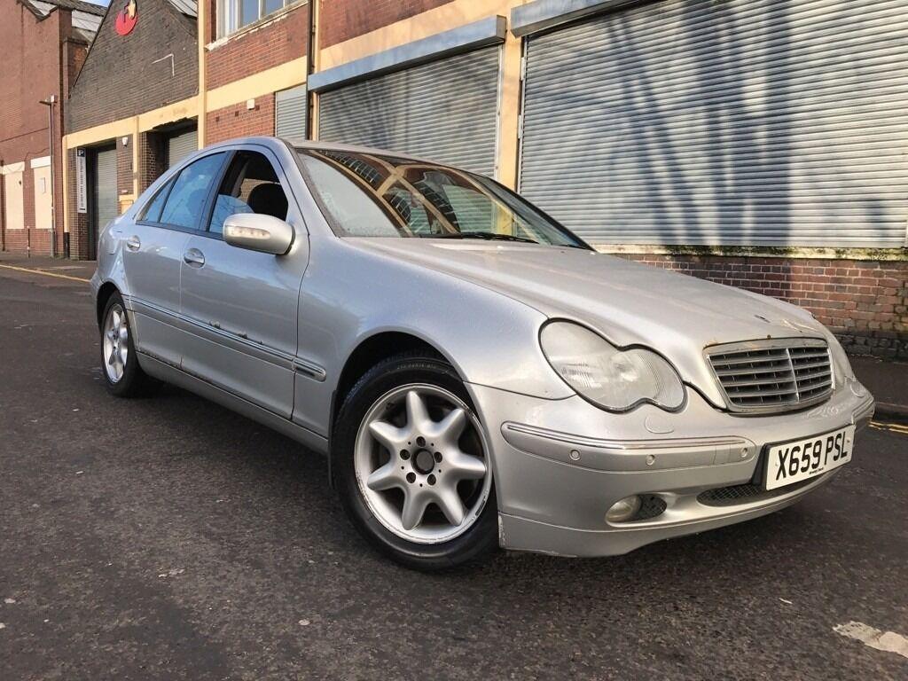 Mercedes benz c class 2001 2 6 c240 elegance 4 door huge spec auto box