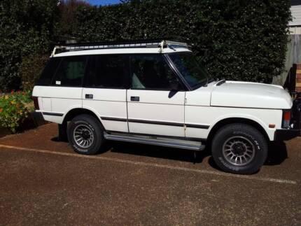 1989 Classic Range Rover East Toowoomba Toowoomba City Preview