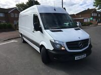 MERCEDES SPRINTER 313CDI,LWB,63REG-2013,NEW SHAPE,1 PREVIOUS OWNER,135K MILES,NEW MOT,NO VAT