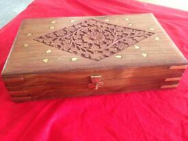 Jewellery box hand crafted
