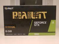 Palit GeForce GTX 1660 6GB StormX GDDR5 Graphics Card - Brand New