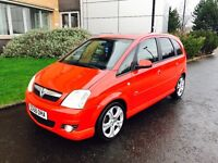 58 plate Vauxhall meriva 1.6 in stunning condition 1 owner full service history long mot till oct
