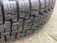 Spare Wheel with New Continental Tyre