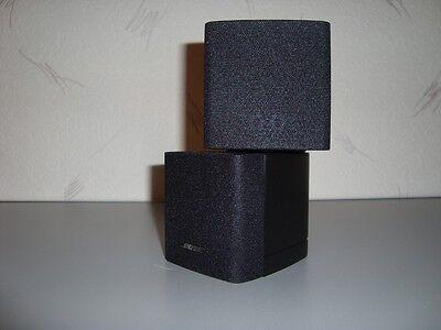 Bose Doppelcube Altavoz Negro Lifestyle & Acoustimass Nuevo en Caja Original