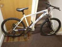 Specialized mountain bike with 26 wheel size and 18 inch frame.