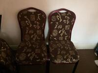 Dining Chairs Gone subject to collection
