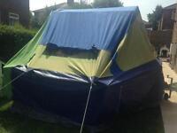 Suncamp holiday 4 birth trailer tent