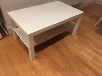 White coffee table - £15 collection only