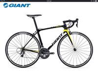 Giant TCR Advanced 3 road bike 2016 brand new still in packaging