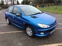 Peugeot 206 1.4 HDI *new mot*£30 tax*1owner*