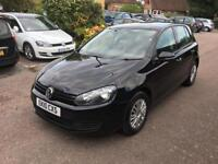 Volkswagen Golf 1.6 tdi-2010 model-black-manual-cheap insurance-part exchange available 1 owner