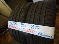 MATCHING PAIR 255 35 20 PIRELLI P-ZEROS 6-7MM TREAD £100 P[AIR SUP & FITD (loads more av} TXT S