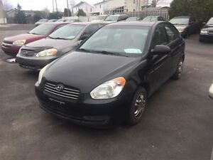 2008 Hyundai Accent FINANCEMENT MAISON DISPONIBLE