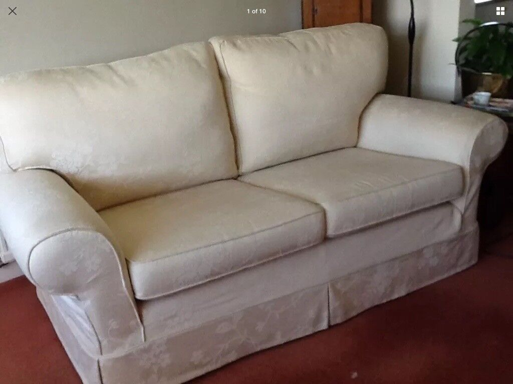 MultiYork 2x two seater sofa's and matching arm chair- sell separate or 3 piece