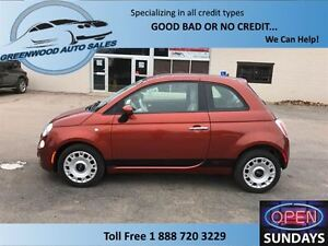 2012 Fiat 500 Cruise, AC,Low KM......Easy On Fuel