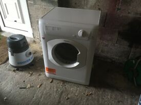Hot point tumble dryer new