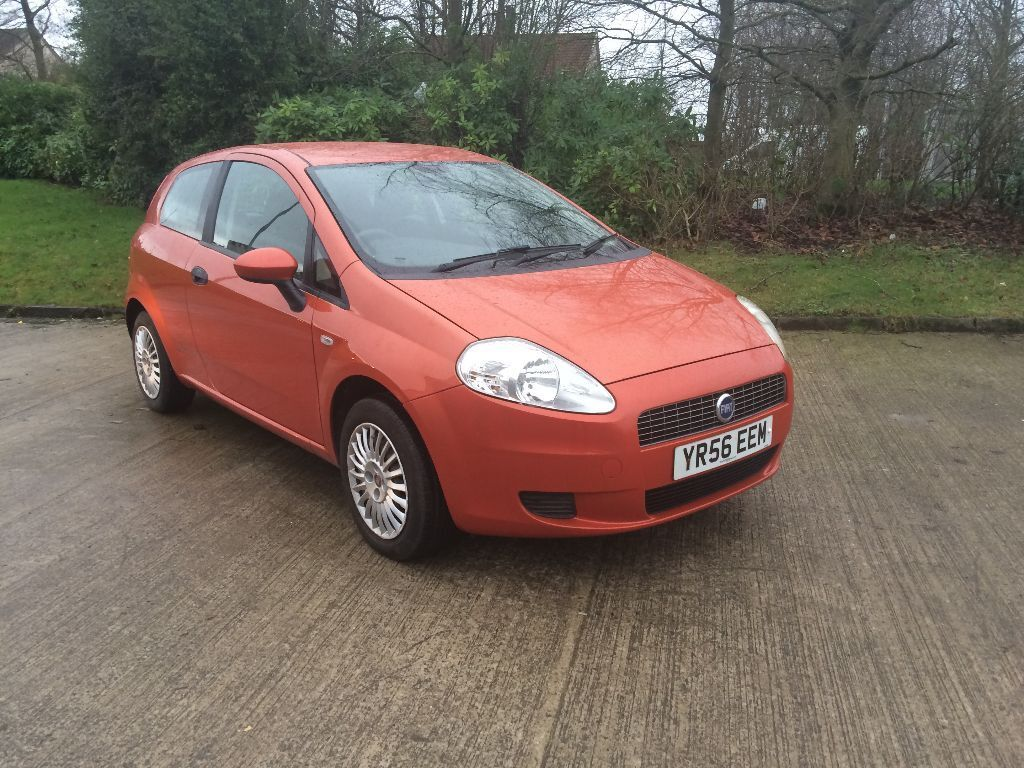 2006 56 fiat grande punto 1 2 active orange metallic mot d till october 2016 in riddrie. Black Bedroom Furniture Sets. Home Design Ideas