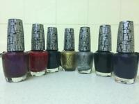 Sparkly Silver Shatter Nail Polish by OPI BRAND NEW Nail Art