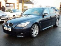 2006 BMW 530d M-SPORT WITH ONLY 61000 MILES FULL HISTORY MOTD JAN 2018 excellent example