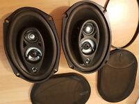 2 Speakers 6x9 250W RMS NIKKAI - Great sound quality