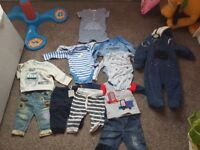 New baby boy clothes size 3-6
