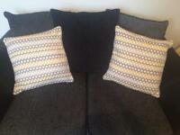 Matalan pattern cushions x4