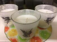Handmade fairy candles