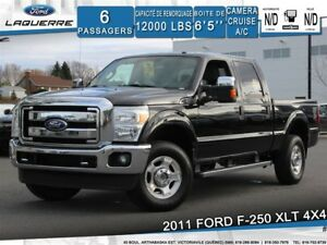 2011 Ford F-250 XLT**4X4*6 PLACES*CAMERA*BLUETOOTH*CRUISE*A/C**