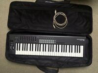 Novation Launchkey 61 with Novation softcase and usb cable. LIKE NEW carrybag. ableton live