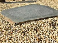 steinblicke® Basalt Naturstein Trittstein Trittplatte ca. 80 cm Niedersachsen - Wunstorf Vorschau