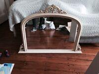 Stunning cream French shabby chic mirror