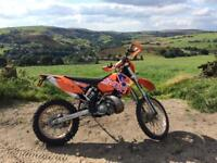 KTM EXT 200 - 2004 - road legal