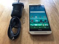 HTC M9 gold 32GB unlocked! excellent condition x