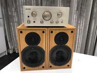 Teac AH500 Amplifier with Teac LS500 Speakers