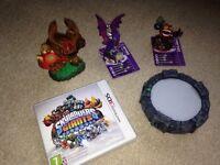 3D DS portal, skylanders Giants game and 4 figures