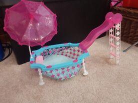 Barbie swimming pool