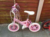 "Princess 12""girls bike"