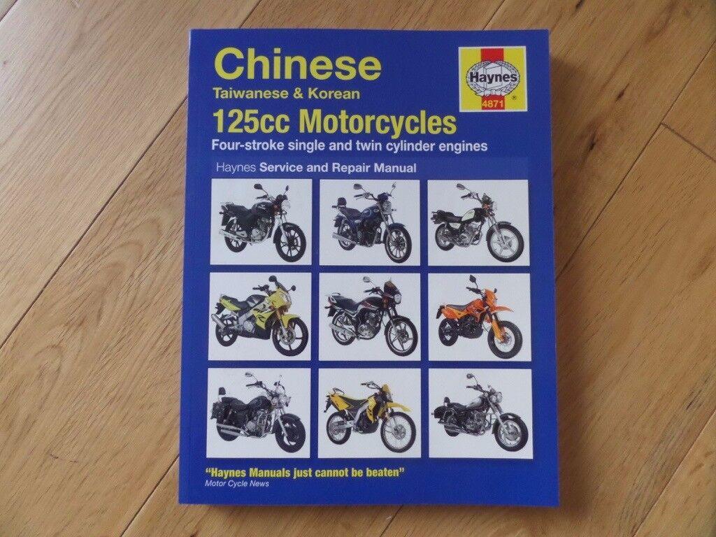 Haynes Owners Workshop Manual Chinese Taiwanese & Korean 125cc Motorcycles