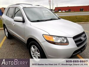 2007 Hyundai Santa Fe GL AWD **CERT ETEST NO ACCIDENT** $6,799