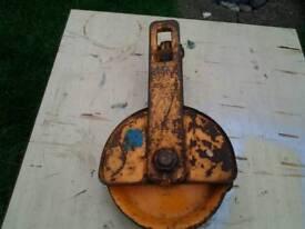 Vintage pulley