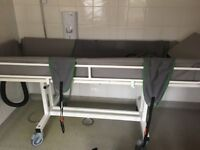 Disabled shower trolly