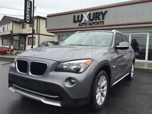 2012 BMW X1 2.8. PREMIUM PKG, PANO ROOF, ONLY 46K