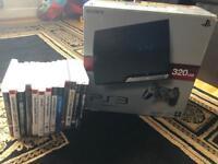 PS3 500GB + eye camera + games!!! EXTRAS