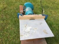 Wolf grinder-table saw