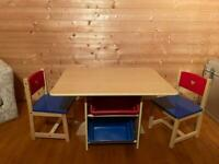 GLTC kids table and chair set