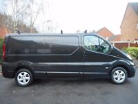 FINANCE ME!! NO VAT!! Vauxhall Vivaro 2900 Sportive CDTI LWB Panel Van with only 62K And FULL MOT!!